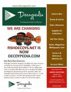 Fish Decoys Net  Now is Decoypedia
